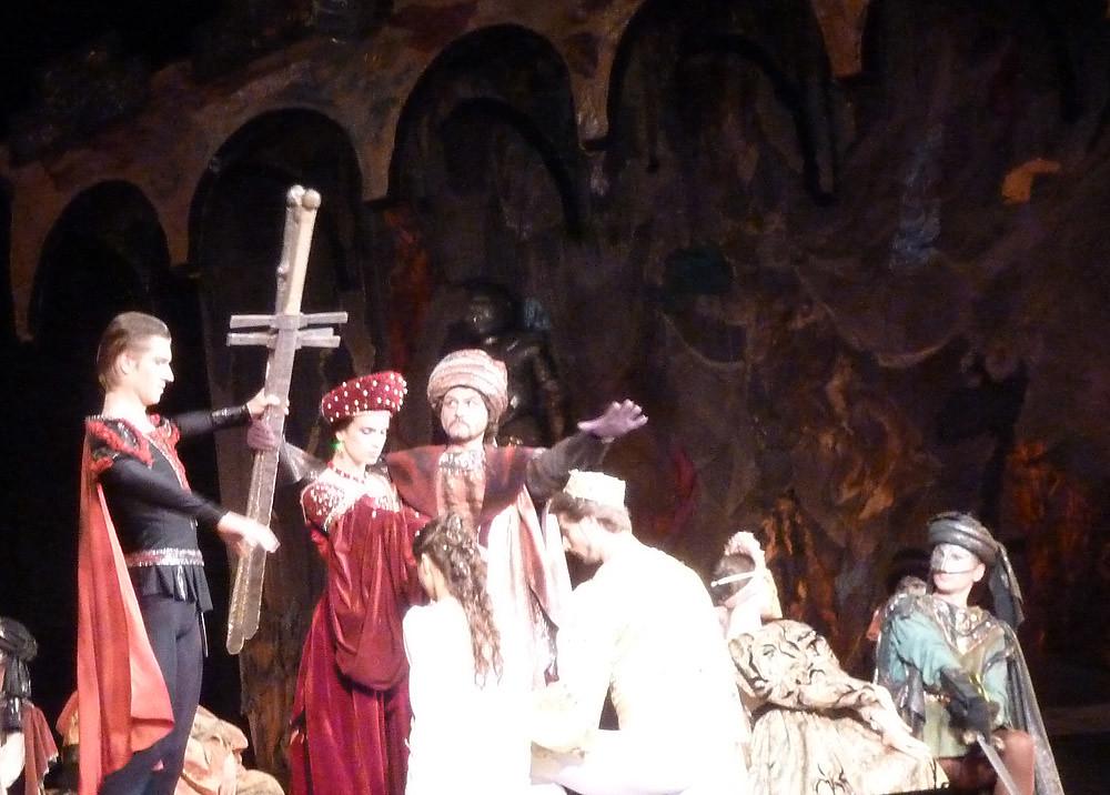 Минск Сцена из балета Ромео и Джульетта