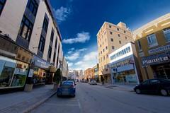 La rue Racine à Chicoutimi