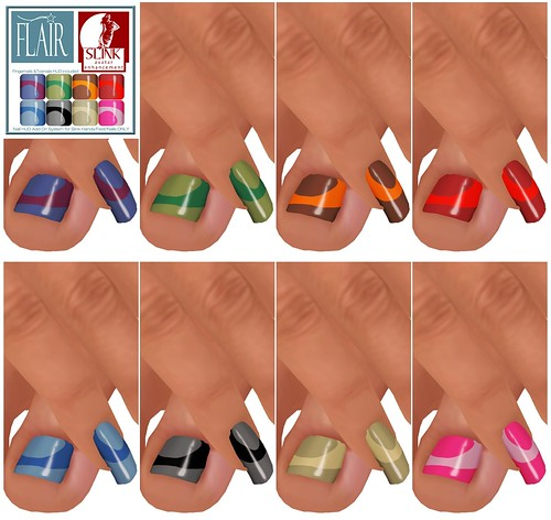 Flair - Nails Set 76
