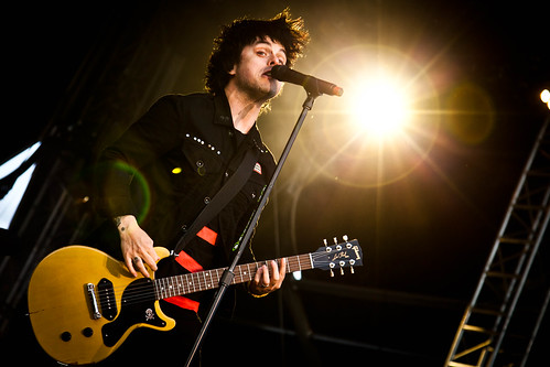 Green Day live bei Krieau Rocks