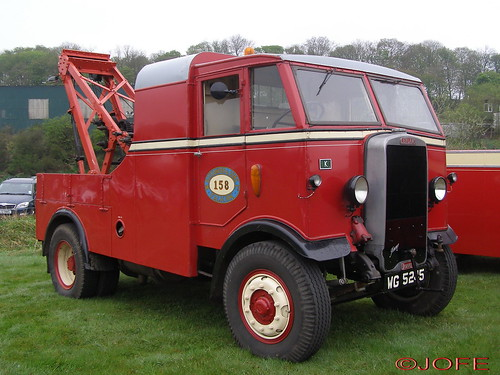 Leyland Beaver Recovery Truck