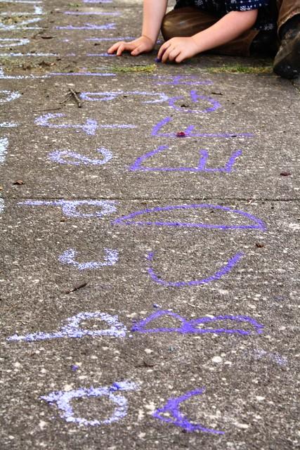 a b chalk