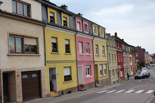 Houses in Ettelbruck, Luxembourg