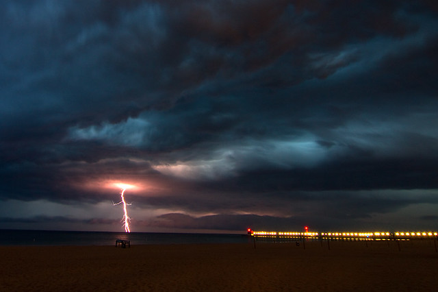 Lake Michigan Lightning