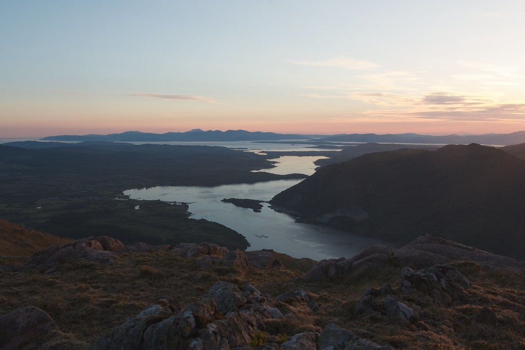 Mull and Loch Etive sunset