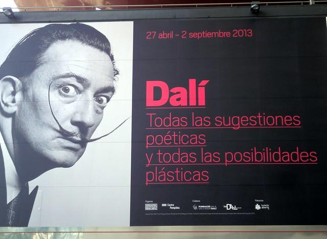 Dalí no Museu Reina Sofia - Madri