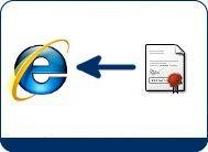 Importar el certificado digital con Internet Explorer