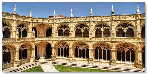 Claustro do Mosteiro dos Jerónimos by VRfoto