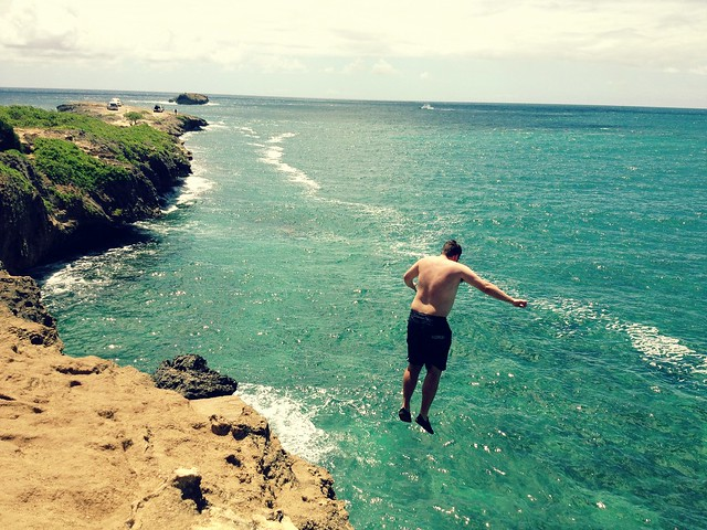 Laie Point Jump