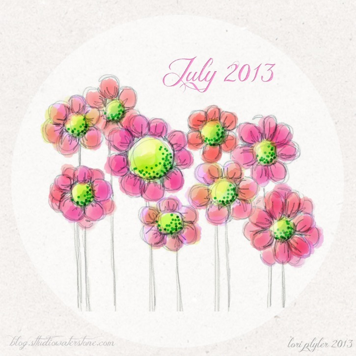 July iPad Background - Muted