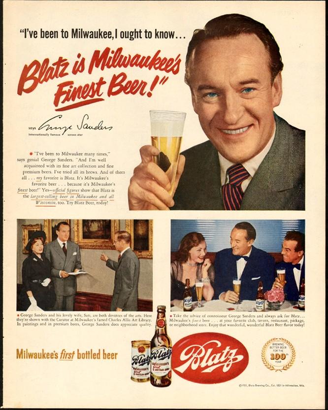 Blatz-1951-george-saunders