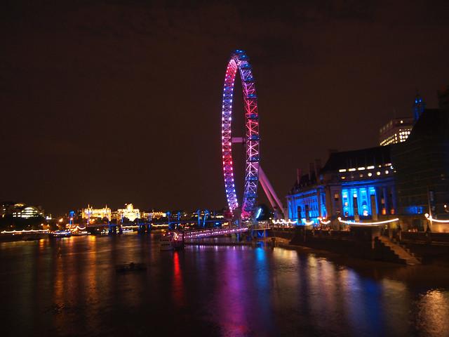 London Eye royal birth