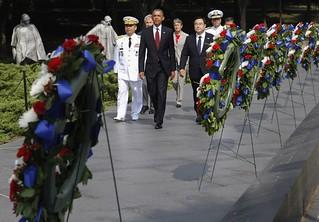 【组图】美国举行朝鲜战争停战60周年纪念仪式