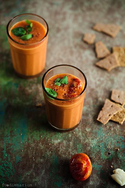 Easy To Make Cold Tomato Soup