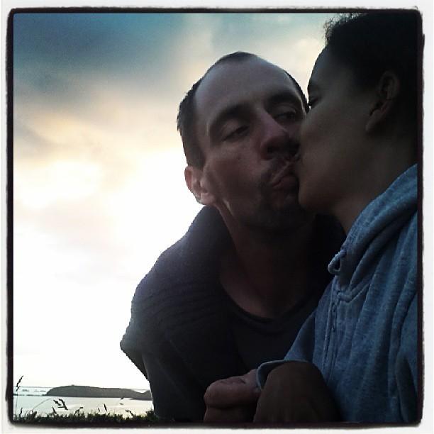 Coucher.de soleil à la pointe de minard. #bretagne #paimpol #france #bzh #vacances #blog #blogueuse #ourlittlefamily