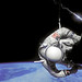 Small photo of Aldrin Performs EVA