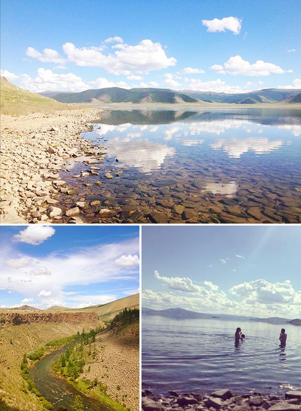 Mongolian lake