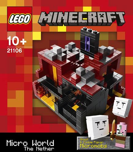 LEGO 21106 Box Front