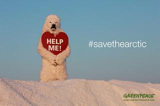#savethearctic - Greenpeace Gruppo Locale San Ferdinando di Puglia