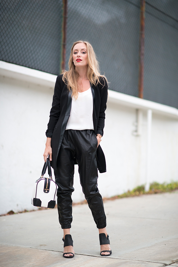 eatsleepwear, robert-rodriguez, alice-and-olivia, sigerson-morrison, leather, outfit