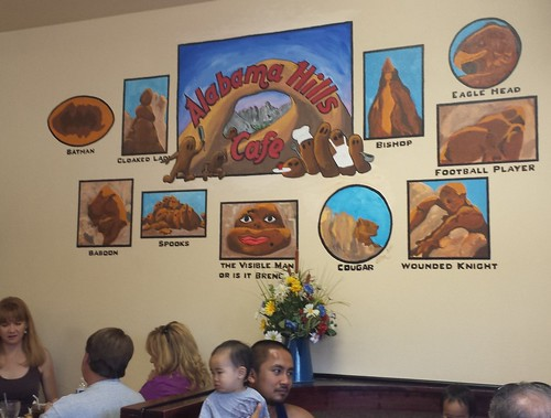 Alabama Hills Cafe Mural