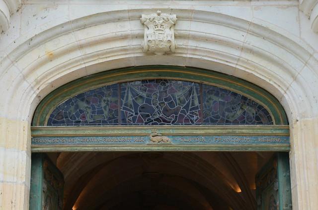 Chateau de Chenonceau front door