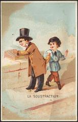La soustraction [front]