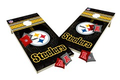 Pittsburgh Steelers Custom Cornhole Boards XL