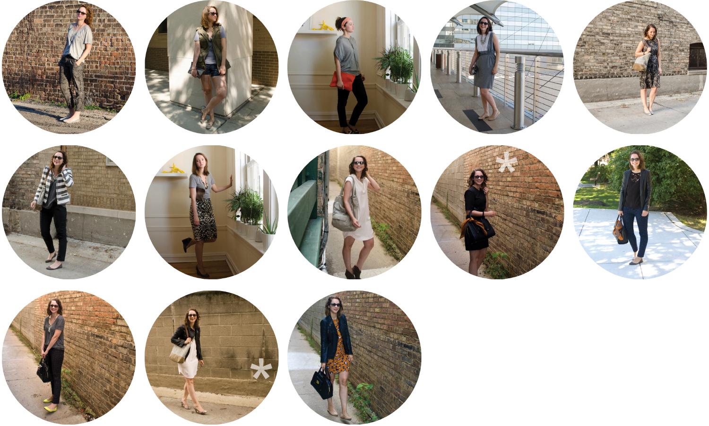 september outfit recap