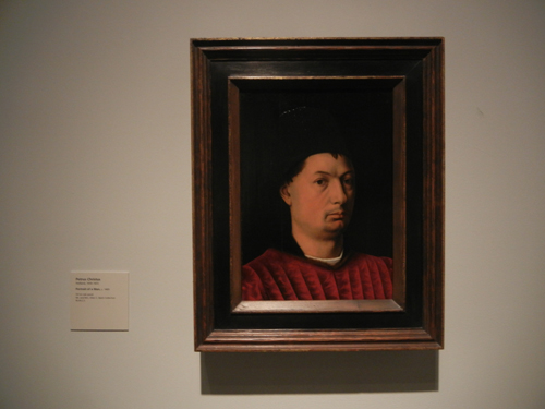 DSCN7996 _ Portrait of a Man, c. 1465, Petrus Christus (1410-1472), LACMA