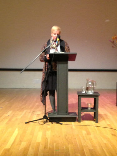Carmen Gimenez Smith reading, Naropa