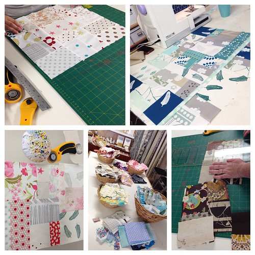 Freeform Patchwork workshop at Handmaker's Factory