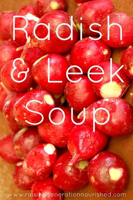 Radish & Leek Soup