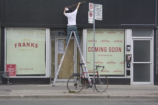Franks -Bloor and Dovercourt. We Can't Wait
