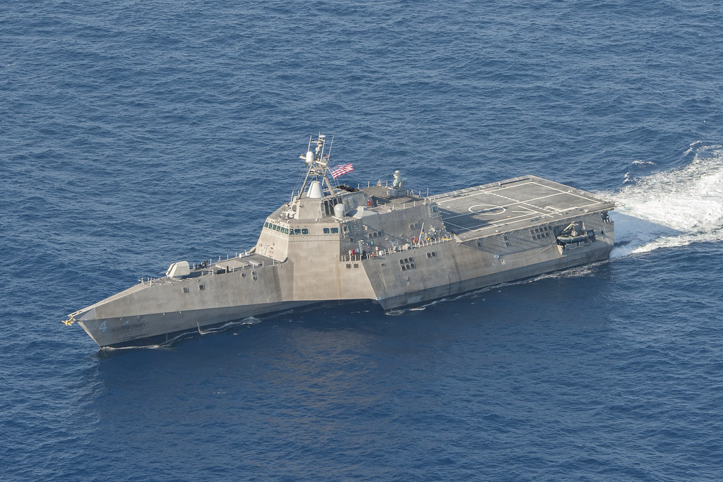 SINGAPORE - The littoral combat ship (LCS) USS Coronado (LCS 4) arrived in the 7th Fleet area of responsibility (AOR) Oct. 3 while on its maiden deployment to Southeast Asia.