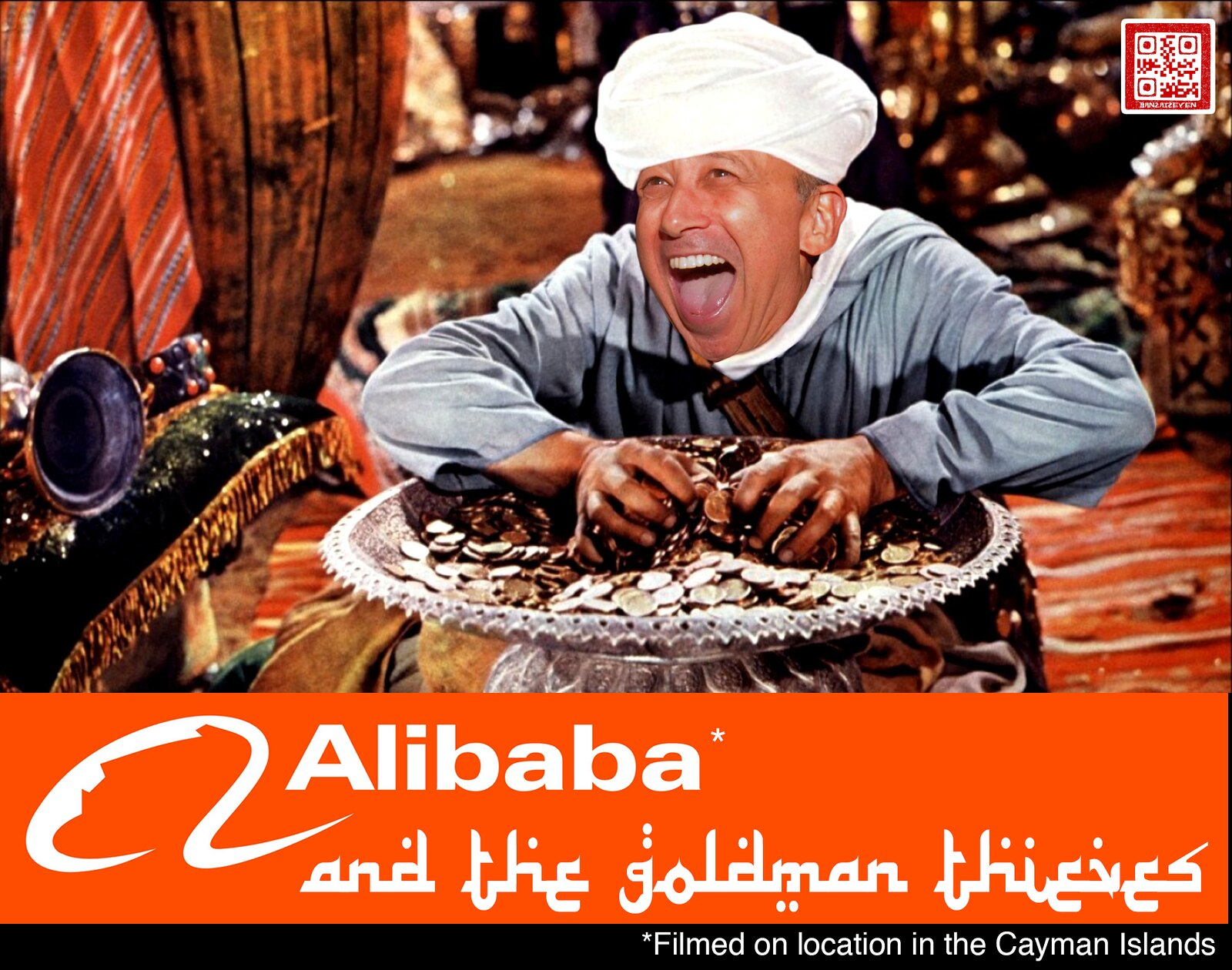 ALIBABA AND THE GOLDMAN THIEVES