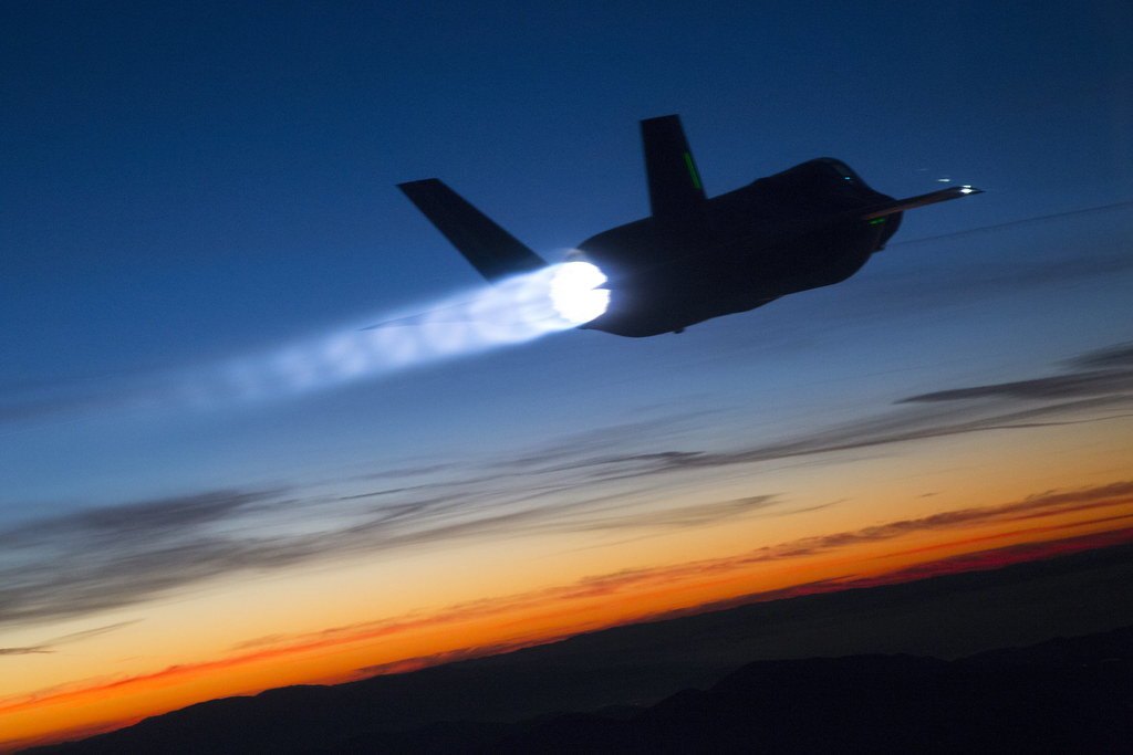 F-35B Twilight Refueling