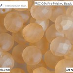 PRECIOSA Fire-Polished Beads - 151 19 001 - 00030/23951