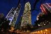 Hong Kong Central at dusk, so blue by meoko
