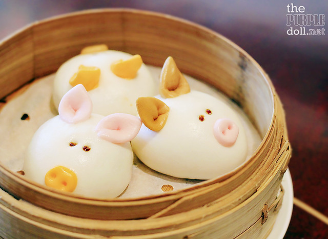 """Three Little Pigs"" Barbecue Pork Bun (HKD 88)"