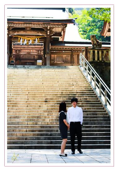 写真館 お宮参り 伊奈波神社 ばくろ(飛騨牛専門店)岐阜県岐阜市 出張撮影 赤ちゃん写真 家族写真