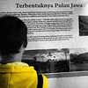 Sejarah terbentuknya Pulau Jawa #coloursplash #history #javanese #describeindonesia #people #colorblind_united #museum #solo