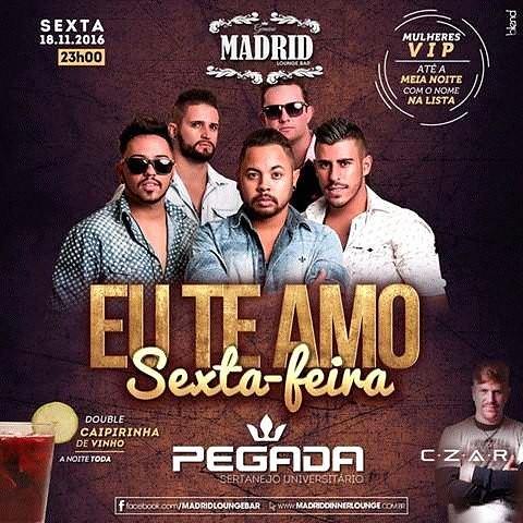 Sexta feira e no Madrid em itapira galeraaaa!! #madrid #Friday #djczar