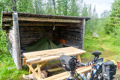Gaustafallet on the Wilderness road, Sweden