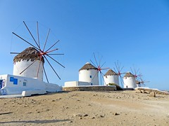 Grèce, l'ïle de Mykonos