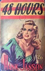 Vintage pulp fiction book. 48 Hours by Hank Jansen