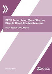 BEPS Action 14 on More Effective Dispute Resolution Mechanisms - Peer Review Documents