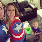 Happy Halloween from Captain American, Captain America, and Captain America. by bartlewife