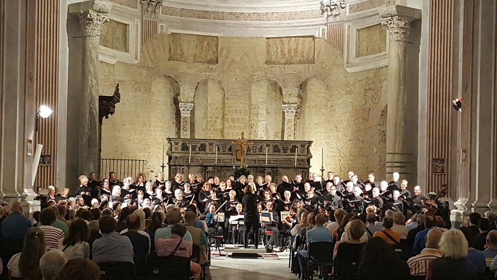 Santa Barbara Choral Society 2016 Tour of Italy