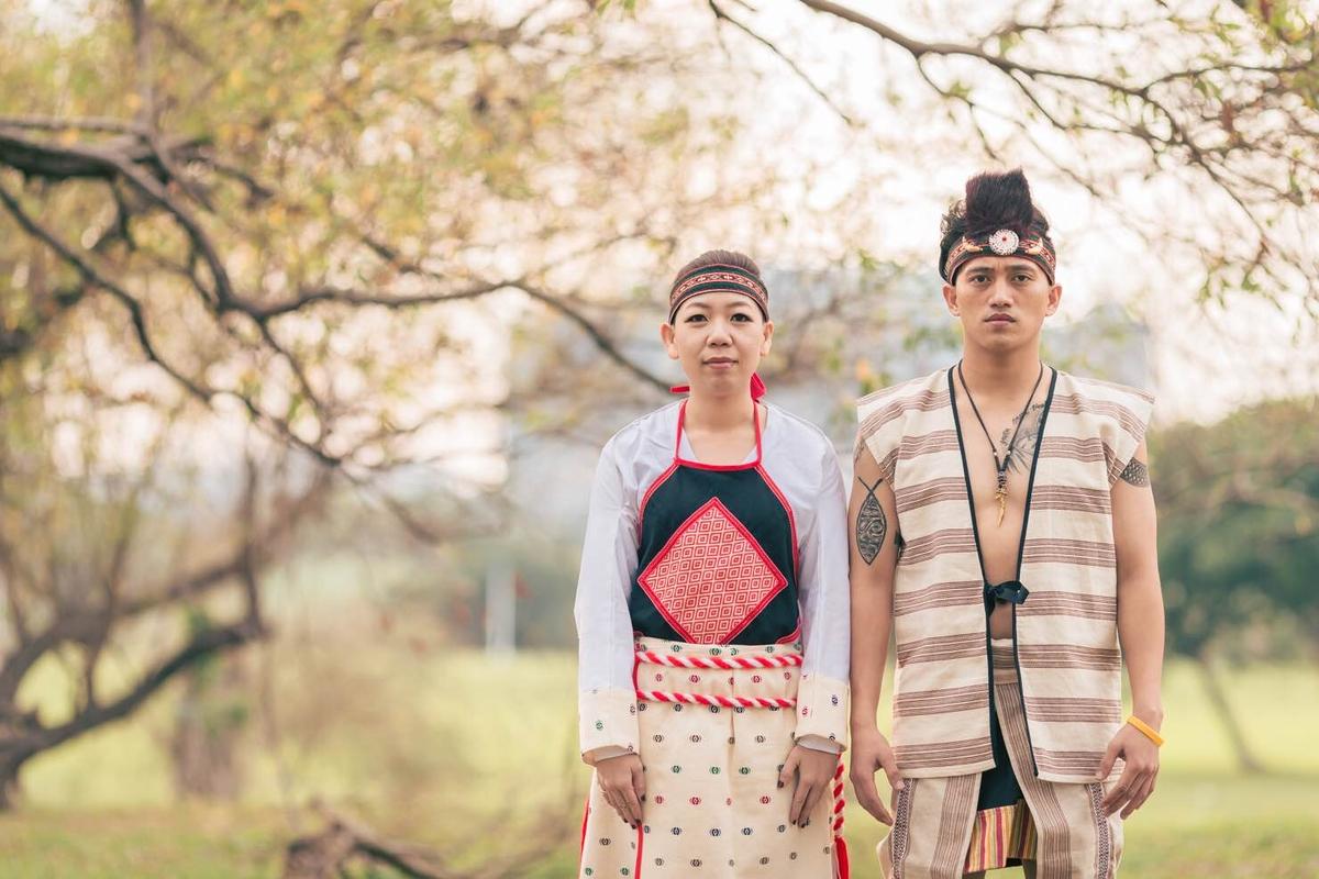 新秘Yuki│台北婚紗│原住民婚紗│林口街道│婚紗照